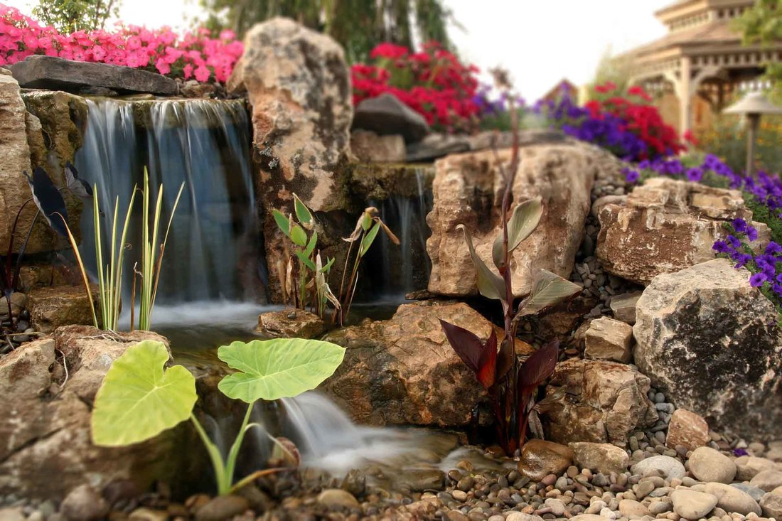 Aquascape Pondless Waterfalls, CAC Installed