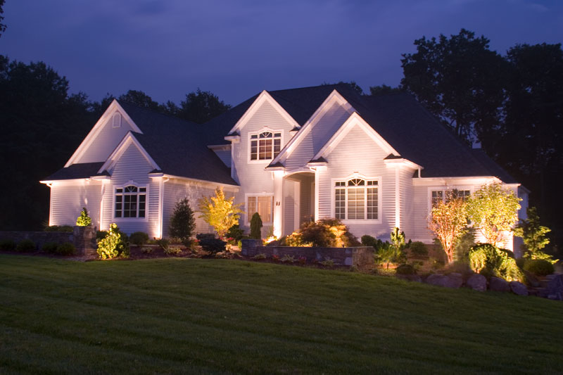 Home with Outdoor Lighting Ideas in Bedford PA