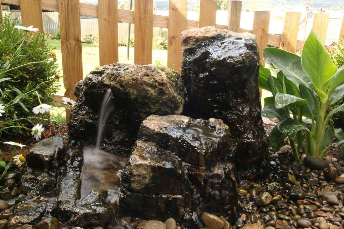 Bubbling Rocks, Aquascape CAC Installed