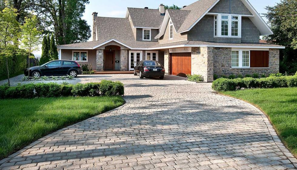 Permeable Paver Driveway